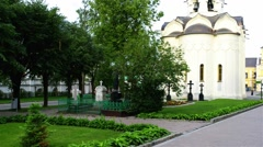 Trinity Lavra of St. Sergius Stock Footage