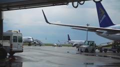 Astana International Airport Stock Footage