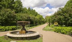 Regents park in London - stock photo