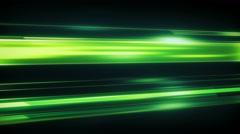 Green light streaks loopable modern background 4k (4096x2304) - stock footage