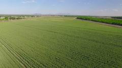 4K Aerial Farmland Stock Footage