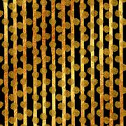 Faux Gold Foil Glitter Vertical Stripes Polka Dots Pattern - stock illustration