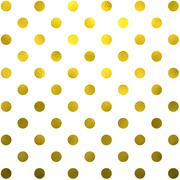 Gold White Polka Dot Pattern Swiss Dots Texture Digital Paper - stock illustration