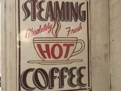 8mm Vintage Sign Inside American Diner Stock Video Stock Footage