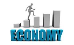 Economy - stock illustration