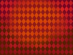 Red diamond shapes Argyle pattern background Stock Illustration