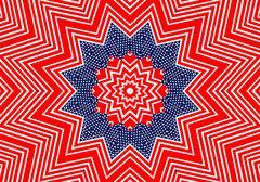 American flag background colors filling the frame. - stock illustration