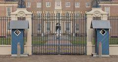 Apeldoorn, Holland, March 6, 2016: Front view of the royal palace Het Loo - stock photo