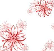 Sakura cherry blossom illustration..Sakura cherry blossom illustration. digit - stock illustration