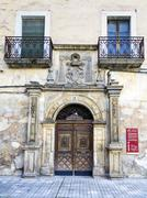 Facade of the convent of La Merced in Trujillo, Caceres, Spain - stock photo
