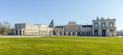 Royal Palace of Aranjuez is a residence of the King of Spain - stock photo
