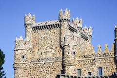 Image of Guadamur castle, Toledo, Castilla la Mancha - stock photo