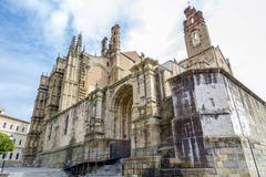 New Cathedral of Plasencia, Extremadura Spain Stock Photos