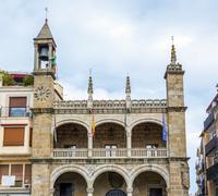 City Council of Plasencia, Span - stock photo