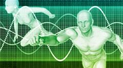 Fitness Training Program 4k Loop - stock footage