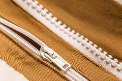 Coat with zipper Stock Photos