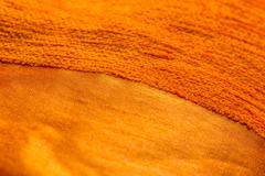 Fabric textured abstract background - stock photo