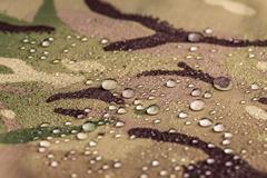 Waterproof textile fabric - stock photo