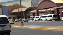 Entrance from the Panama National Terminal to the Albrook Mall Stock Footage
