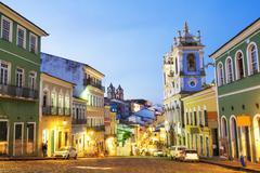 Pelourinho in Salvador, Bahia, Brazil - stock photo