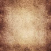 Vintage Tan Brown Parchment Paper Textured Background Stock Illustration