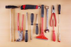 work tool set - stock photo
