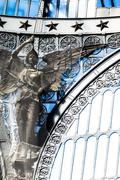 Details of gallery Umberto I, Naples , Italy - stock photo