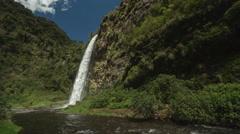 Condor Machay Waterfall - stock footage