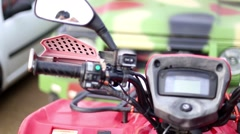 Atv off road vehicle presentation Stock Footage