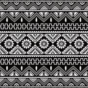 Native ethnic seamless pattern Stock Illustration