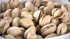 Pistachios (seamless loopable; 4K) Stock Footage