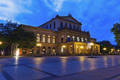 Hanover Opera House Hanover (Hannover), Lower Saxony, Germany Stock Photos