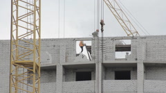 people work construction - stock footage