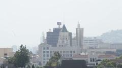 Pan Across Hollywood Stock Footage