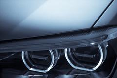 Car LED headlight Stock Photos