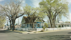 Old House in Belen NM Stock Footage