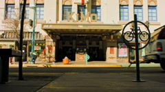 Kimo Theatre Albuquerque NM Stock Footage