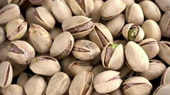 Heap of Pistachios (not loopable; 4K) Stock Footage
