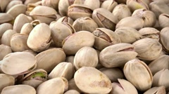 Rotating Pistachios (not loopable; 4K) Stock Footage