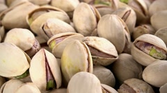 Pistachios (not loopable; 4K) Stock Footage