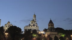 The Ivan The Great Bell Tower Complex Stock Footage