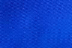 Blue nylon fabric texture Stock Photos