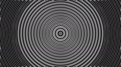 Concentric geometric shapes-03-8-na Stock Footage