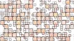 Colorful Squares Background Animation - Loop Orange Stock Footage