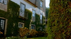 Manorial house in Portugal. Stock Footage
