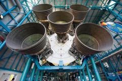 Saturn V rocket at Kennedy Space Center Kuvituskuvat