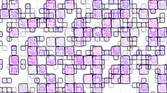 Colorful Squares Background Animation - Loop Purple Stock Footage