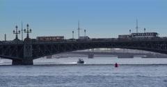 The Old Iron Bridge 4K - stock footage