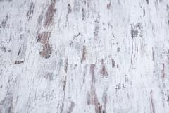 Background texture of old white painted wooden lining boards wall Stock Photos