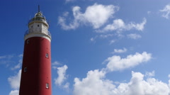 Red Lighthouse - stock footage